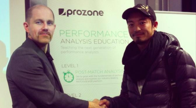 サッカーのデータ分析会社Prozoneの分析コースをイギリスで受講