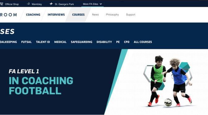 イングランドサッカー協会公認コーチングライセンスレベル1コースを受けてきました